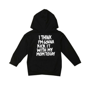 Kick It With Mom Hoodie
