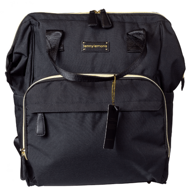 Premium Diaper Bag Backpack - Black