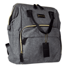 Premium Diaper Bag Backpack - Gray