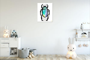 Six Legged Colored Bug Art