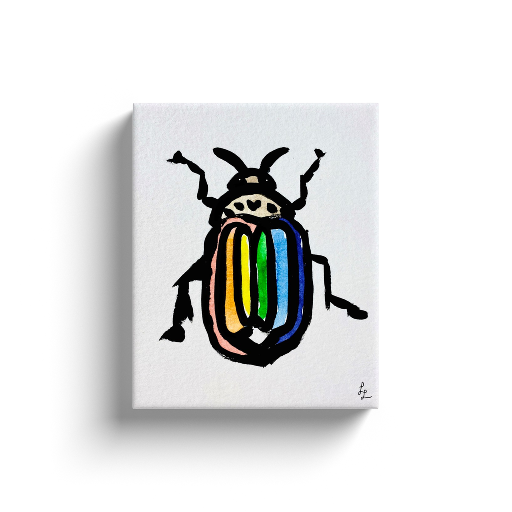 Rainbow Bug Art