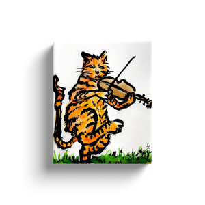 Musical Cat Art