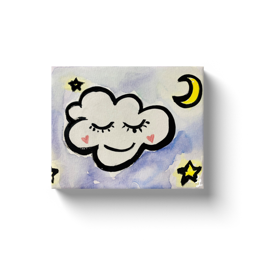 Sleepy Cloud Art