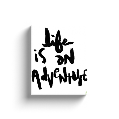 Life is Adventure Art