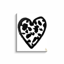 Spotted Heart Art