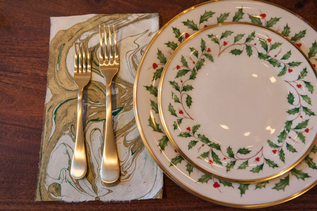 Holiday Tablescape: Mixing Old and New