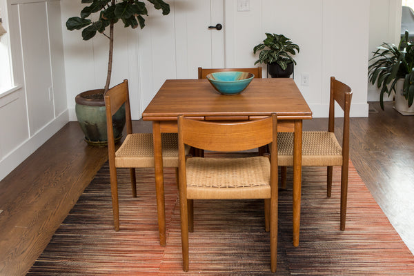 Danish Teak Dining Set Designed by Poul Volther for Frem Rojle
