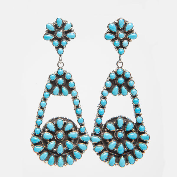 Handmade Turquoise Earrings by Emma Lincoln