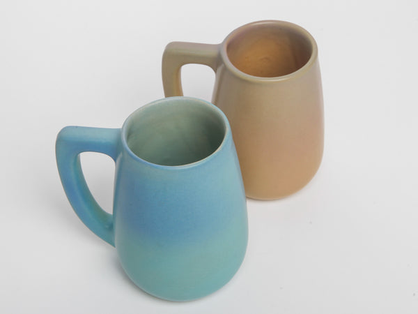 Set of Two Van Briggle Mugs