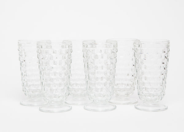 American Clear Fostoria Footed Tumbler