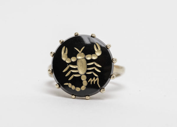 Gold Scorpion Ring