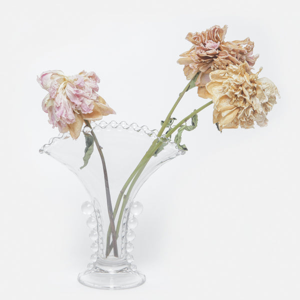 Candlewick Glass Vase