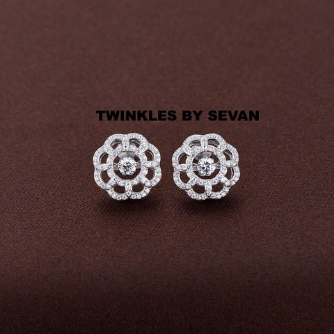 TWINKLES DANCING STONE SWAROVSKI CRYSTAL EARRINGS