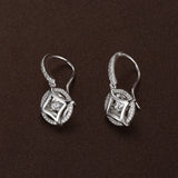 TWINKLES DANCING STONE EARRINGS IN STERLING SILVER