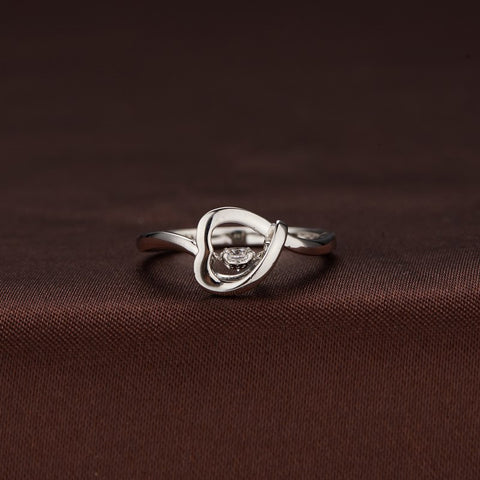 TWINKLES DANCING STONE RING IN STERLING SILVER