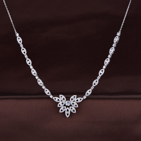 DANCING STONE BRIDAL NECKLACE