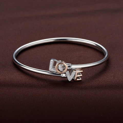 LOVE BANGLE IN DANCING STONE