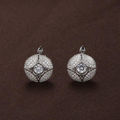 DANCING STONE SWAROVSKI EARRINGS