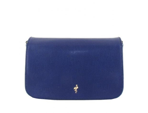 MENBUR BLUE CLUTCH BAG