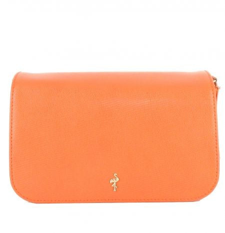 MENBUR ORANGE CLUTCH BAG