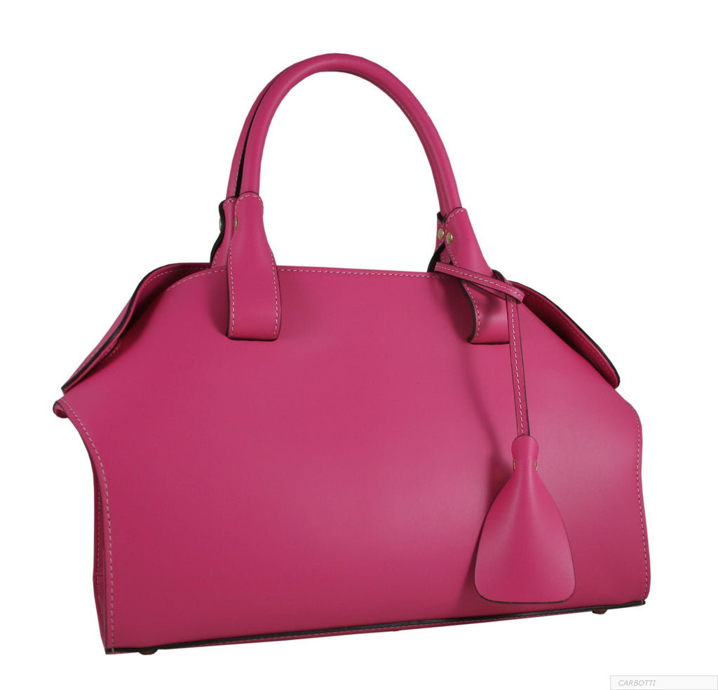CARBOTTI PINK MEDIUM TOTE BAG