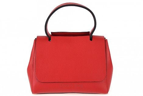 100% MADE IN ITALY RED MEDIUM TOTE BAG
