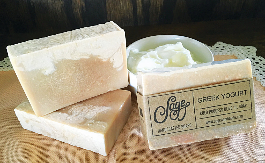 Greek Yogurt Soap