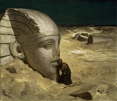 Elihu Vedder, The Questioner of the Sphinx