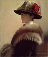 Gretchen Rogers, Woman in a Fur Hat