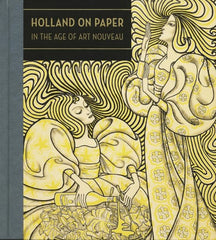 Holland on Paper art nouveau book cover