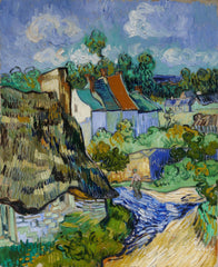 Van Gogh, Houses at Auvers