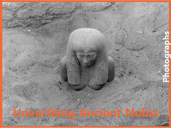 Unearthing Ancient Nubia photographs book cover