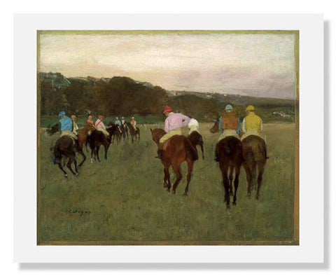 Edgar Degas, Racehorses at Longchamp