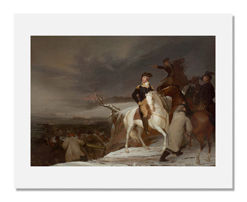 MFA Prints archival replica print of Thomas Sully, The Passage of the Delaware from the Museum of Fine Arts, Boston collection.