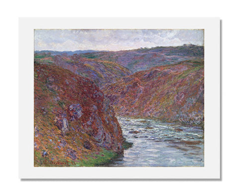 Claude Monet, Valley of the Creuse (Gray Day)