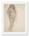 MFA Prints archival replica print of Auguste (René) Rodin, Standing Nude from the Museum of Fine Arts, Boston collection.