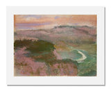 MFA Prints archival replica print of Edgar Degas, Landscape from the Museum of Fine Arts, Boston collection.