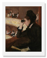 Mary Stevenson Cassatt, In the Loge