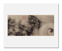 MFA Prints archival replica print of Chen Rong, Nine dragons, View 5 from the Museum of Fine Arts, Boston collection.