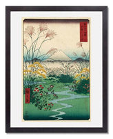 MFA Prints archival replica print of Utagawa Hiroshige I, Ôtsuki Plain in Kai Province from the Museum of Fine Arts, Boston collection.