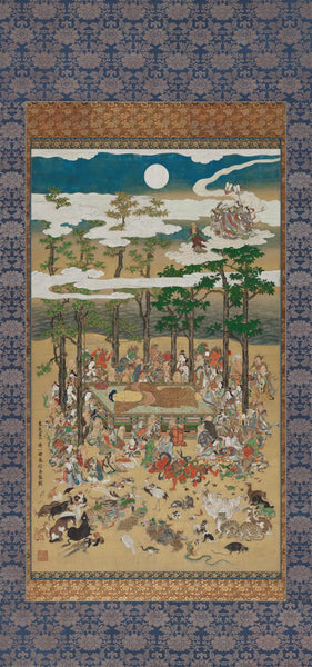Hanabusa Itchō, The Death of the Historical Buddha