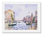 MFA Prints archival replica print of Edward Darley Boit, Venice: Afternoon on the Grand Canal from the Museum of Fine Arts, Boston collection.