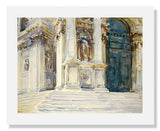 MFA Prints archival replica print of John Singer Sargent, Venice: La Salute from the Museum of Fine Arts, Boston collection.