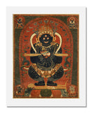 MFA Prints archival replica print of Tibetan, 16th century, Mahakala as Panjaranatha from the Museum of Fine Arts, Boston collection.