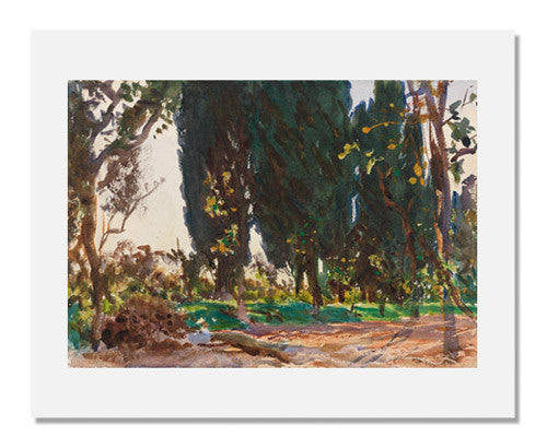 John Singer Sargent, Vines and Cypresses
