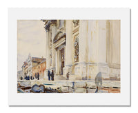 MFA Prints archival replica print of John Singer Sargent, Venice: I Gesuati from the Museum of Fine Arts, Boston collection.