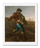 MFA Prints archival replica print of Jean-François Millet, The Sower from the Museum of Fine Arts, Boston collection.