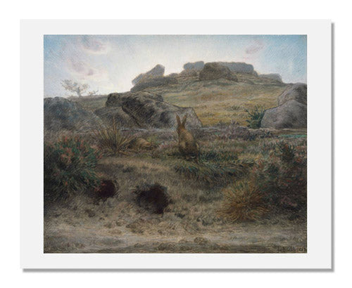 Jean-François Millet, Rabbit Warren, Dawn