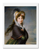 Marie Louise Elisabeth Vigée Le Brun, Portrait of a Young Woman