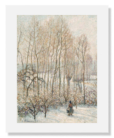 Camille Pissarro, Morning Sunlight on the Snow
